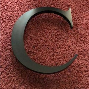 """Other - Large Wooden """"C"""" Initial"""